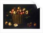 Basket with Apples, Quinces and Pomegranates by Juan de Zurbarán