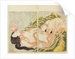 The Dream of the Fishermans Wife by Katsushika Hokusai