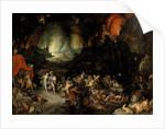 Aeneas in the Underworld by Jan Brueghel the Elder