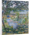 The Terrace at Vétheuil by Claude Monet