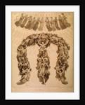 Illustration to the Divine Comedy by Dante Alighieri (Paradiso canto XVIII) by Francesco Scaramuzza