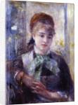 Portrait of Nini Lopez by Pierre Auguste Renoir