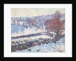 Snowy Landscape at Crozant by Jean-Baptiste Armand Guillaumin