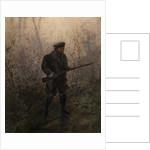 Hunter in the Forest by Ivan Pavlovich Pokhitonov