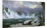 Niagara Falls in Winter by Hippolyte Sebron
