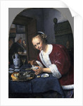Girl with oysters by Jan Havicksz Steen