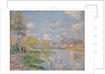 Spring on the Seine by Claude Monet