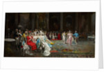 Dance at the Palace by Eugenio Lucas Villaamil