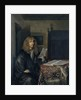 Portrait of a Man Reading a Document by Gerard Ter Borch the Younger