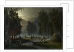 Haymakers. Evening Rest by Pyotr Alexandrovich Sukhodolsky