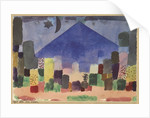 The Mountain Niesen. Egyptian Night by Paul Klee
