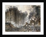The Storming of the Bastille on 14 July 1789, c. 1789 by Jean Pierre Laurent Houel