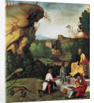 Saturn Exiled, Late 15th cen by Giorgione
