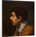 Head of a Man in Profile, c. 1616-1617 by Diego Velàzquez