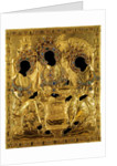 Oklad Cover for the Holy Trinity icon by Andrei Rublev, 1600-1625 by Ancient Russian Art