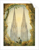 Vision of the Completed Spires of the Cologne Cathedral, 1861 by Vincenz Statz