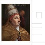 Portrait of Pope Nicholas V (Giovio Series), 1568 by Cristofano Dell'Altissimo