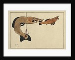 Untitled (Two fishes, one on a hook), 1901 by Paul Klee