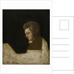 Wolfgang Amadeus Mozart, 1789 by Josef Lange