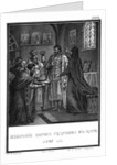 The Election of Boris Godunov to the Tsar. 1598 (From Illustrated Karamzin), 1836 by Boris Artemyevich Chorikov