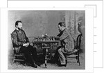 Mikhail Chigorin and William Steinitz in Havana, 1880, 1880 by Anonymous
