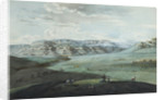 View of Caucasian Mineral Waters and the Kislovodsk Fortress, 1805 by Yemelyan Mikhaylovich Korneev