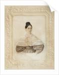 Portrait of Ekaterina Alexandrovna Sverbeeva, née Princess Shcherbatova, 1833 by Anonymous