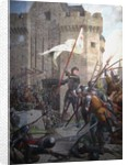 Joan of Arc in armour before Orléans, 1886-1890 by Jules Eugène Lenepveu