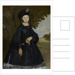 Portrait of Madame Brunet, ca 1863 by Édouard Manet