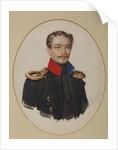 Portrait of Platon Ivanovich Panshin, 1841 by Alexander Ivanovich Klünder