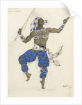 Costume design for the ballet Oriental Fantasy (Ballet Hindu), 1913 by Léon Bakst