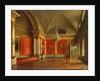 The Small Throne Room of the Winter Palace, 1837 by Sergei Konstantinovich Zaryanko