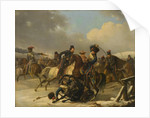 Cossacks pursued retreating French soldiers, 1812, 1827 by Auguste-Joseph Desarnod