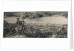 The Battle of Poltava on 27 June 1709, 1715 by Alexei Fyodorovich Zubov