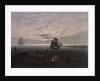 Evening on the Baltic Sea, 1831 by Caspar David Friedrich
