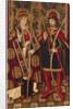 Saints Fabian and Sebastian, 1475-1499 by Anonymous