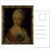 Portrait of Grand Duchess Natalia Alexeyevna of Russia, Princess Wilhelmina Louisa of He by Anonymous