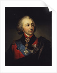 Portrait of Count Ivan Pavlovich Kutaysov, Late 18th century by Anonymous