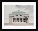 Facade of the Saint Petersburg Imperial Bolshoi Kamenny Theatre, 1803-1804 by Jean François Thomas de Thomon