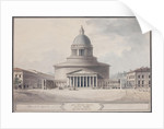 Facade of the Kazan Cathedral in Saint Petersburg, 1800 by Jean François Thomas de Thomon