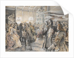 Easter Celebrations at the Court of Peter the Great by Elena Petrovna Samokish-Sudkovskaya