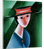 Girl with Red Hat, 1915 by Josef Capek