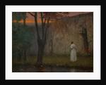 Autumn dawn, 1910 by Jakub Schikaneder