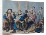 Tea and Sugar. Tea drinking in a tavern, First quarter of 19th century by Rudolf Kasimirovich Zhukovsky