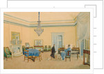 Interior with figures. The Music Room, 1830-1839 by Anonymous