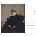 Portrait of Maria Fyodorovna Morozova, née Simonova, 1897 by Valentin Alexandrovich Serov