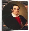 Portrait of the painterr Giuseppe Angiolo Artari, 1830s by Vasili Andreyevich Tropinin