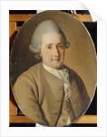 Portrait of Mikhail Gavrilovich Kozhukhov by Carl Ludwig Johann Christineck