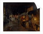 Ironworks, 1902 by Andrei Nikolayevich Shilder
