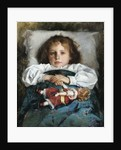 Child with a Doll, 1912 by Prince Pavel Petrovich Trubetskoy